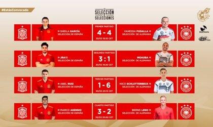 Marco Asensio resuelve para España en el triunfo ante Alemania en eFootball