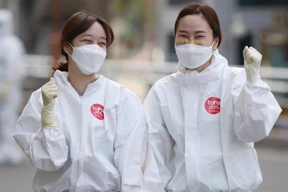 Corea del Sur confirma 125 nuevos casos de coronavirus