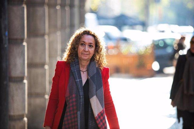 La consellera de Justicia de la Generalitat, Ester Capella