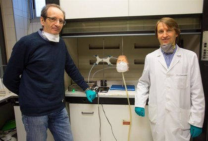 Dos científicos de la Universidad de Navarra testan la eficacia de algunos tipos de mascarillas de protección