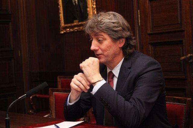 El alcalde de Soria, Carlos Martínez.