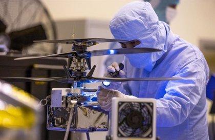 Últimas pruebas de la primera aeronave que volará en otro mundo