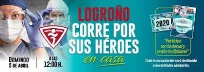 La carrera 'Logroño por sus héroes' supera los mil inscritos y posibilita el 'dorsal cero'