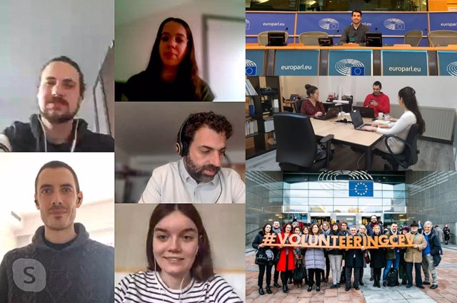 [Grupoextremadura] Jóvenes Diputación Europa Continúan Becas Con Teletrabajo