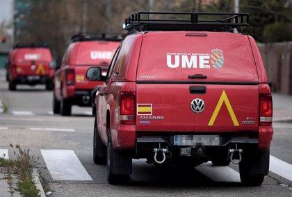 Miembros de UME, Brigada Paracaidista y Ejército de Tierra apoyan en control, reconocimientos y limpieza