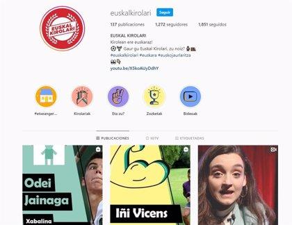 Euskal Kirolari comparte vídeos en euskera de deportistas vascos para promover la actividad física