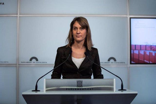 La presidenta de los comuns en el Parlament, Jéssica Albiach.