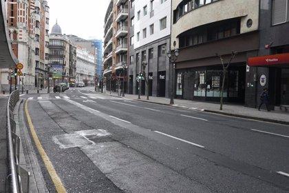 Bilbao registró este lunes casi 24.000 entradas de vehículos, un 73% menos que un lunes laborable normal