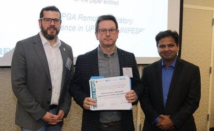 La experiencia del laboratorio remoto de electrónica digital de la UPNA, premiada en un congreso internacional