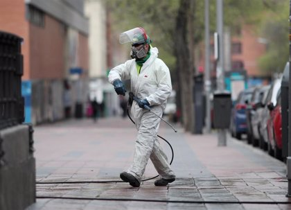 Más del 80% de los municipios de la región han desinfectado ya sus calles y viales