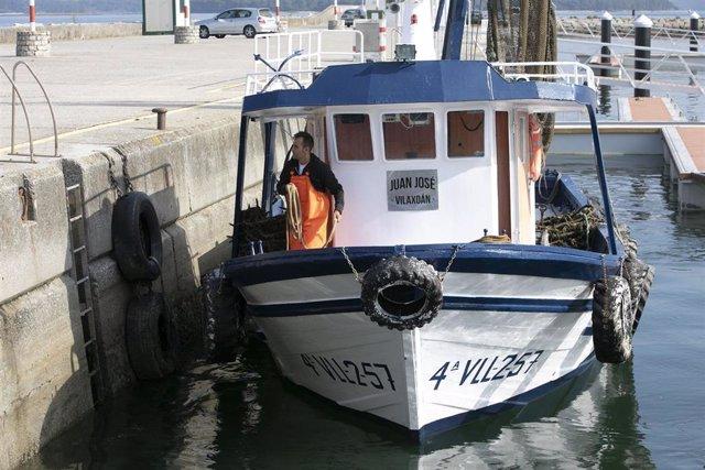 Barco gallego, mar, pesca, cuotas