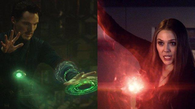 Doctor Strange y Bruja Escarlata en las películas de Marvel