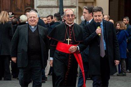 El vicario de la diócesis de Roma, el cardenal Angelo De Donatis, da positivo en Covid-19