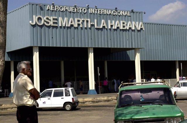 Aeropuerto de La Habana.