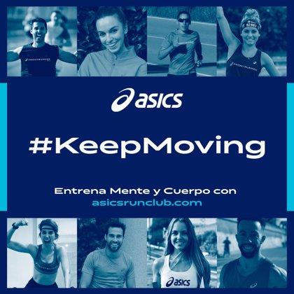 ASICS crea #KeepMoving para practicar deporte durante el confinamiento por el coronavirus