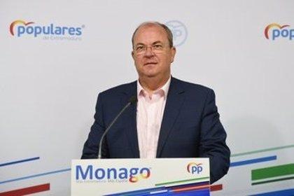 """Monago asegura que existe la """"orden"""" de """"ocultar el número real"""" de fallecidos por coronavirus en Extremadura"""