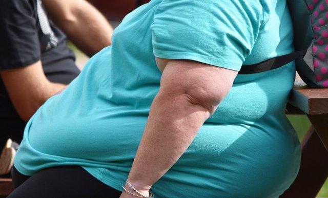 Persona con obesidad
