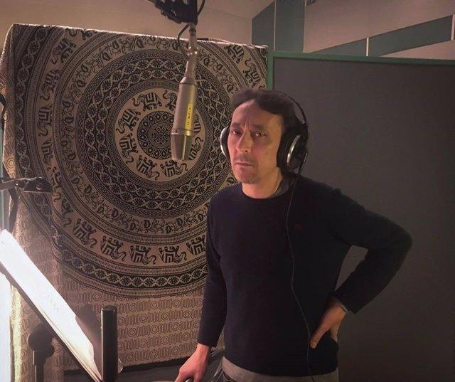 Rafael Berrio en el estudio