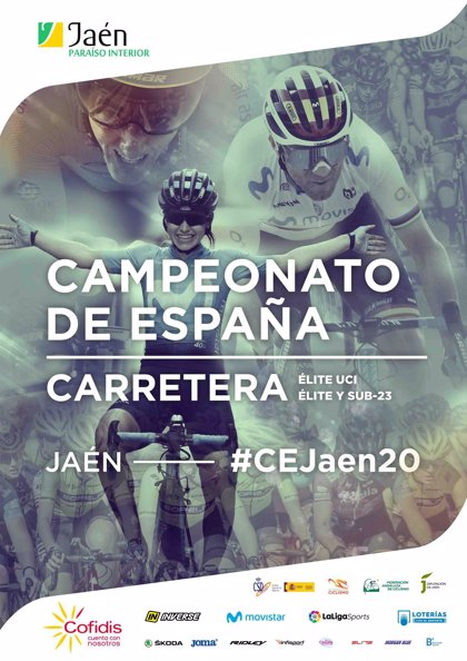 La provincia de Jaén será sede del Campeonato de España de Ciclismo en Carretera 2020