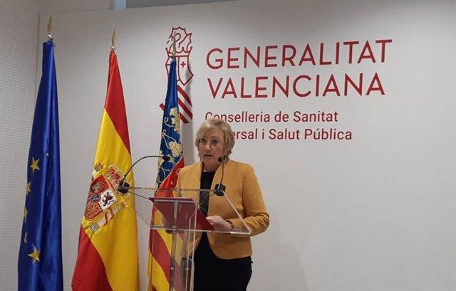 La consellera de Sanidad Universal, Ana Barceló, en imagen de archivo