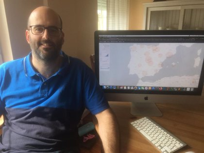 Investigadores de la UDC crean una página web para monitorizar la evolución del COVID-19