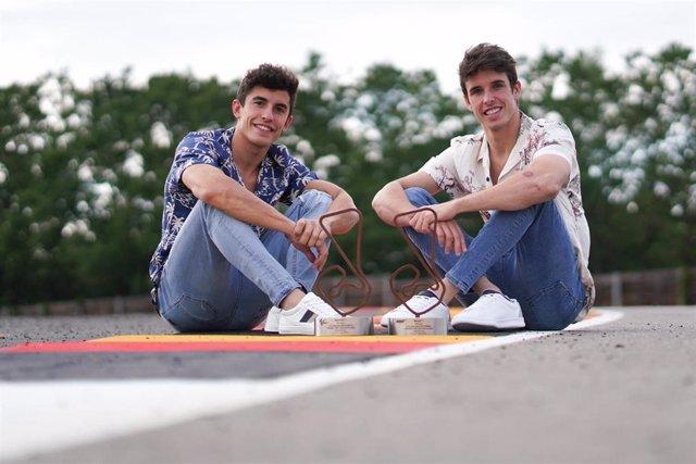 Los hermanos Marc y Alex Márquez