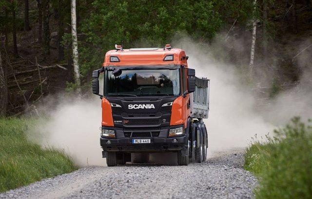 Scania G 500 XT 8x4 tipper