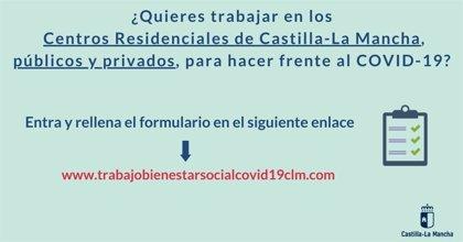 Castilla-La Mancha busca profesionales sociosanitarios para trabajar en residencias públicas y privadas