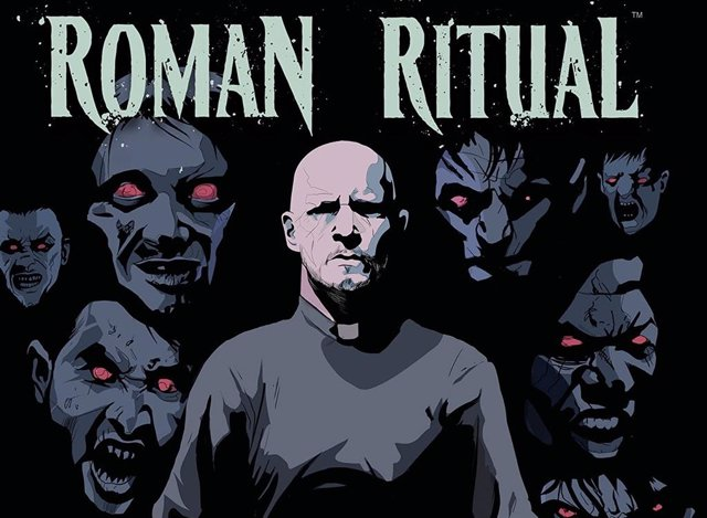 Portada de la novela gráfica Roman Ritual