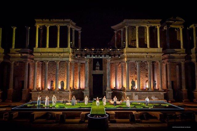 El Festival de Mérida estrena la obra 'Metamorfosis' en el Teatro Romano