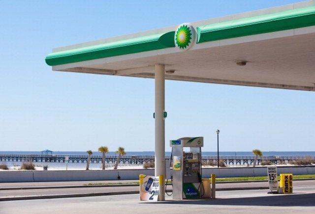 Estación de Servicio de la petrolera británica BP