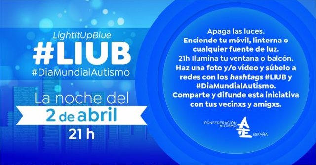Acción por el Día Mundial del Autismo