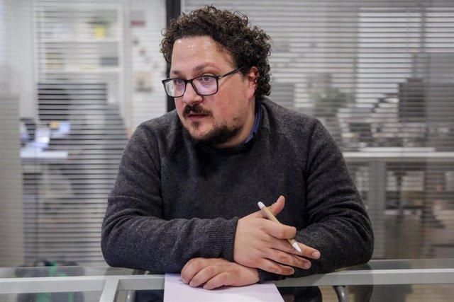 El diputado de Unidas Podemos en la Asamblea de Madrid Jacinto Morano. Archivo.