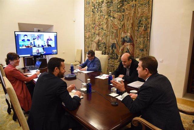 Reunión del Consejo de Gobierno de Castilla-La Mancha del día 1 de abril de 2020