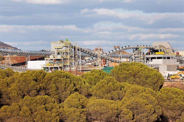 Imagen de archivo de la explotación minera Atalaya Riotinto.