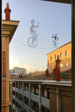 Ilustracion Juan Berrio Desde mi ventana