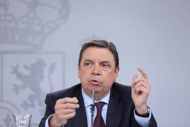 El ministro de Agricultura, Luis Planas, en una imagen de archivo.