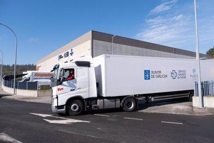 La Xunta recibe dos lotes adquiridos con 2 millones de mascarillas a través de la logística de Inditex