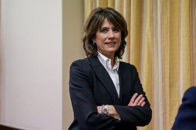 L'exministra de Justícia i fiscal general Dolores Delgado, a Madrid (Espanya) 20 de febrer del 2020.