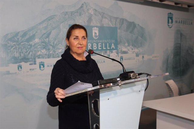 Isabel Cintado, concejala de Derechos Sociales del Ayuntamiento de Marbella