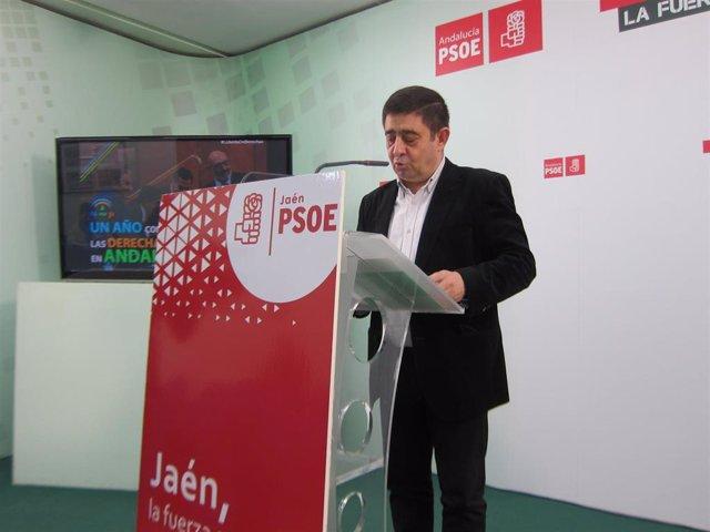 El secretario general del PSOE de Jaén, Francisco Reyes/Archivo
