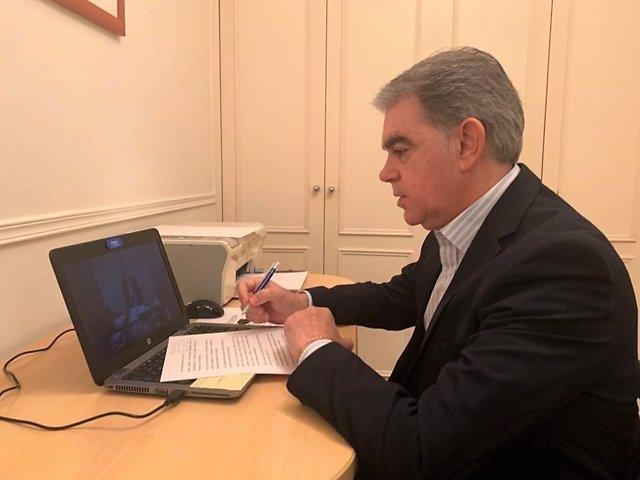 El viceconsejero vasco de Empleo, Marcos Muro.