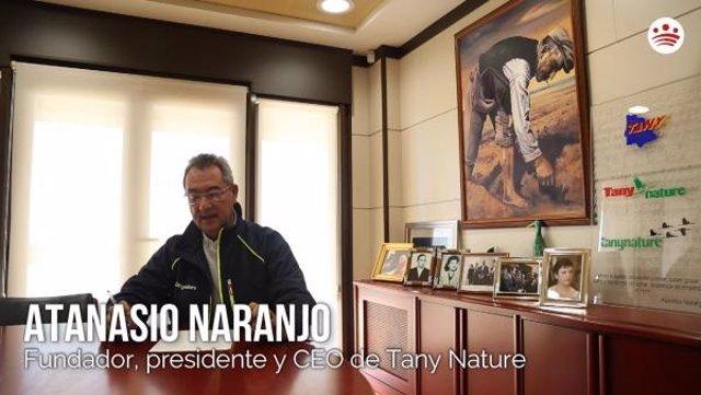 Atanasio Naranjo lanza un mensaje de ánimo
