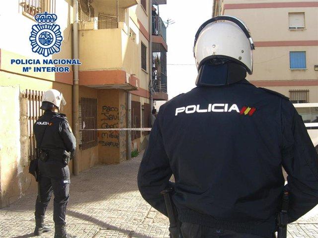 Agentes de Policía Nacional en una imagen de archivo.