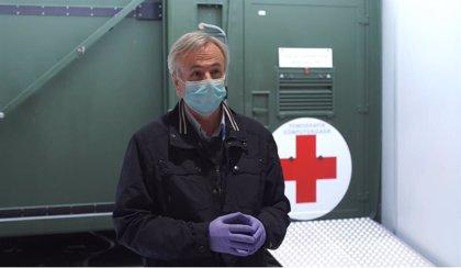 El TAC instalado en el hospital de Ifema permite ver patologías en pacientes muy complejos