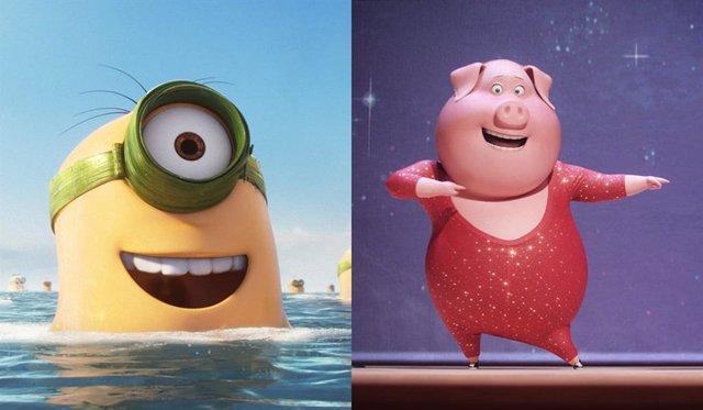 Universal retrasa los estrenos de Canta 2 y la secuela de Los Minions