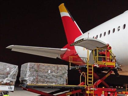 Novartis dona al Corredor Aéreo Sanitario material crítico para hospitales por valor de 1 millón de euros