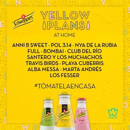 #YellowPlansAtHome, festival de conciertos en streamig durante abril