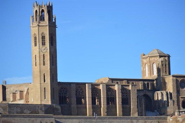 Foto d'arxiu de la Seu Vella de Lleida.