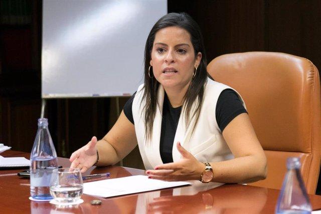 La consejera de Turismo del Gobierno de Canarias, Yaiza Castilla